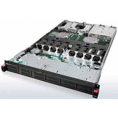 Сервер Lenovo ThinkServer RD550 (70CX0014EA) (70CX0014EA)Серверы Lenovo<br>Lenovo ThinkServer RD550 E5-2620v3 (2.4Ghz) 6C, 8GB (1x8GB) DDR4 RDIMM, no HDD (up to 8x2.5 HotPlug HDD), RAID720i (RAID 0-50), no Optical Drive, QP 1GbE Ethernet, (1)x PS 750W (up to RPS), Rack-Mount 1U, Slide Rails, 3y On-Site warranty<br>