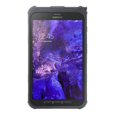 Планшетный ПК Samsung Galaxy Tab Active 8.0 SM-T365 16GB (SM-T365NNGASER)Планшетные ПК Samsung<br>8 дюймов (1280x800) TFT, 4 ядра, 1,2 ГГц, 3 Мпикс., 1,3 Мпикс. фронтальная, 16 ГБ, до 64 ГБ microSD, 1,5 ГБ RAM, Android, NFC/Wifi/BT/3G/LTE, 4450 мАч, 126.1 x 212.9 x 9.7 мм, 388 г., Titanium green, ударопрочность 1,2м в чехле (в комплекте), защита IP67<br>