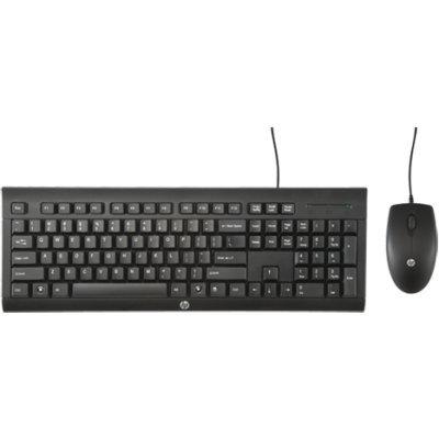 Клавиатура HP Wired Combo C2500 (H3C53AA) (H3C53AA)Клавиатуры HP<br>проводные клавиатура и мышь<br>    интерфейс USB<br>    для настольного компьютера<br>    классическая клавиатура<br>    клавиш: 104<br>    светодиодная мышь, 3 клавиши<br>