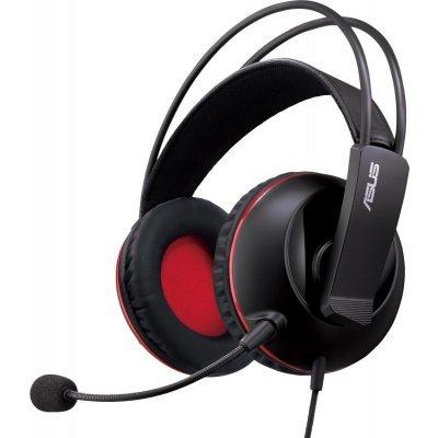 Компьютерная гарнитура ASUS Cerberus (90YH0061-B1UA00) гарнитура asus rog cerberus gaming headset 90yh0061 b1ua00 красный черный