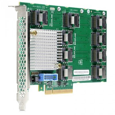 Контроллер SAS HP 12Gb SAS Expander Card (9P mSAS(SFF8087) 2P to controllers, 7P to drive cage, full cables kit) / 727250-B21 (727250-B21)Контроллеры SAS HP<br>for DL380 Gen9<br>