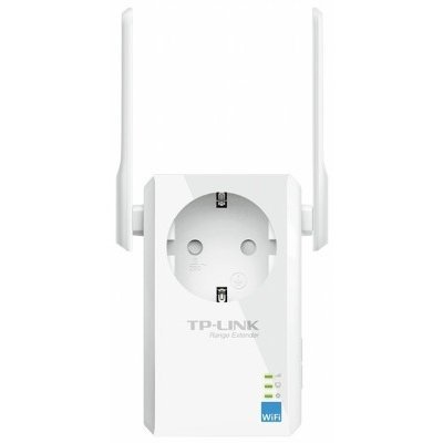 Усилитель беспроводного сигнала со встроенной розеткой TP-link TL-WA860RE (TL-WA860RE)Wi-Fi точки доступа TP-link<br>300Mbps Wireless N Wall Plugged Range Extender with AC Passthrough, QCA(Atheros), 2T2R, 2.4GHz, 802.11n/g/b, Ranger Extender button, Range extender mode, with 2 fixed Antennas<br>