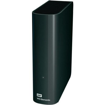 Внешний жесткий диск Western Digital WD 2TB Elements Desktop WDBWLG0020HBK-EESN (WDBWLG0020HBK-EESN) внешний жесткий диск 3 5 4000gb wd elements desktop wdbwlg0040hbk eesn usb3 0 черный