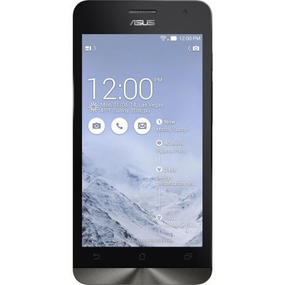 Смартфон ASUS Zenfone 5 16Gb LTE (A500KL-2B127RU) белый (90AZ00P2-M01250)Смартфоны ASUS<br>(1280x720)IPS/ 4x1.2/ 2Gb/ 16Gb/ LTE/ Android 4.3<br>