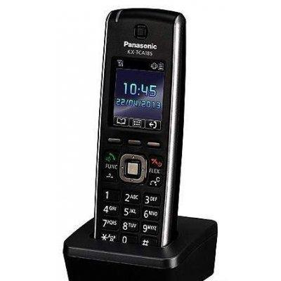 Системный телефон Panasonic KX-TCA185RU трубка (KX-TCA185RU)Системные телефоны Panasonic<br>Panasonic KX-TCA185 - радиотелефон стандарта DECT, обладающий ярким дизайном. Радиотелефон выделяется возможностью воспроизведения 10-тональных полифонических мелодий. Хорошее качество связи, а также функциональность и высокая надежность выделяют данный аппарат среди аналогов. Эта модель станет прек ...<br>