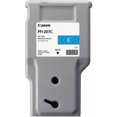 Картридж для струйных аппаратов Canon PFI-207 C Cyan для iPF680/685/780/785 300ml (8790B001)Картриджи для струйных аппаратов Canon<br>Картридж, голубой, 300 мл, для imagePROGRAF iPF680, imagePROGRAF iPF685, imagePROGRAF iPF780, imagePROGRAF iPF785<br>