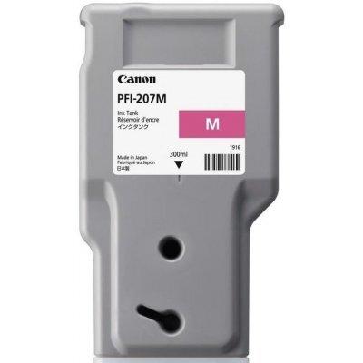 Картридж для струйных аппаратов Canon PFI-207 M Magenta для iPF680/685/780/785 300ml (8791B001)Картриджи для струйных аппаратов Canon<br>Картридж Canon PFI-207M (magenta), 300 мл (8791B001) Оригинальный картридж с пурпурными чернилами для устройств Canon iPF680, 685, 780, 785<br>