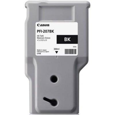 Картридж для струйных аппаратов Canon PFI-207 BK Black для iPF680/685/780/785 300ml (8789B001)Картриджи для струйных аппаратов Canon<br><br>