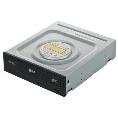 Оптический привод DVD для ПК LG GH24NSC0 Black (GH24NSC0) оптический привод dvd для пк lg cu20n black cu20n