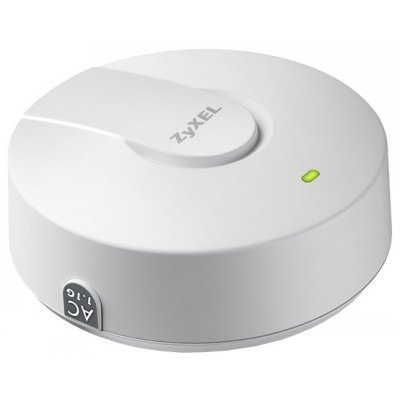 Wi-Fi точка доступа ZYXEL NWA1123-AC (NWA1123-AC)Wi-Fi точки доступа ZYXEL<br>ZyXEL NWA1123-AC - это двухдиапазонная точка доступа Wi-Fi 802.11a/b/g/n/ac с двумя радиоинтерфейсами и поддержкой технологии формирования адаптивной диаграммы направленности (Tx Beamforming). Скорость портов составляет 1000 Мбит/сек. Имеется режим репитера, гостевая сеть и поддержка IPv6.<br>
