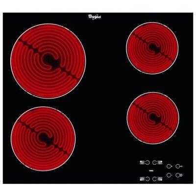 Электрическая варочная панель Whirlpool AKT 8090 NE (AKT 8090/NE)Электрические варочные панели Whirlpool<br>варочная поверхность электрическая стеклокерамическая поверхность керамические конфорки переключатели сенсорные защита от детей индикатор остаточного тепла независимая установка габариты (ШхГ) 58x51 см<br>