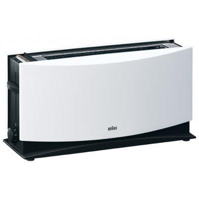 Тостер Braun HT 500 (HT500)Тостеры Braun<br>тостер на 2 тоста мощность 1080 Вт механическое управление функция размораживания ненагревающийся корпус<br>