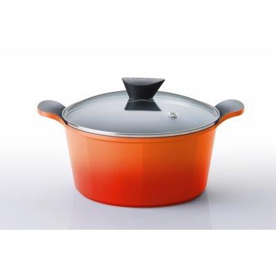 Кастрюля Frybest Orange ORCV-C 24 24см (ORCV-C 24)Кастрюли Frybest<br>ORCV-C 24 Orange Кастрюля 24 см FRYBEST<br>