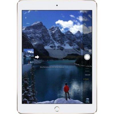 Планшетный ПК Apple iPad Air 2 128Gb Wi-Fi Золотистый MH1J2RU/A (MH1J2RU/A)Планшетные ПК Apple<br>Apple iPad Air 2 Wi-Fi 128GB имеет 9.7-дюймовый IPS дисплей с разрешением 2048х1536 пикселей. В планшете установлены две камеры - фронтальная 1.2 Мп и основная на 8-мегапикселей. Выход в интернет возможен при помощи Wi-Fi модуля. Время автономной работы составляет не менее 10 часов.<br>