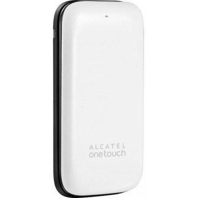 Мобильный телефон Alcatel One Touch 1035D Pure White (1035D-2BALRU1-1)Мобильные телефоны Alcatel<br>GSM, вес 75 г, ШхВхТ 45x93x16.5 мм, экран 1.8, 128x160, MP3, FM-радио, Bluetooth, память 32 Мб, слот microSD (TransFlash), аккумулятор 400 мАч<br>