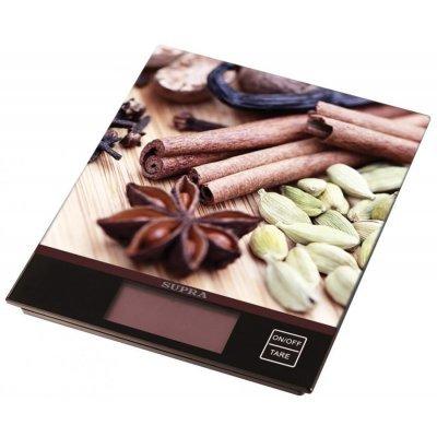 Весы кухонные Supra электронные BSS-4097 коричневый (BSS-4097 коричневый)Весы кухонные Supra<br>электронные кухонные весы<br>    платформа для взвешивания<br>    нагрузка до 5 кг<br>    точность измерения 1 г<br>    автовыключение<br>    стеклянная платформа<br>