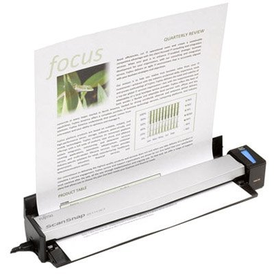 Сканер протяжной портативный (A4) Fujitsu ScanSnap S1100i (PA03610-B101) fujitsu цветной сканер портативный сканер