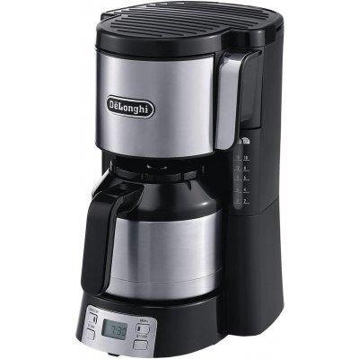 Кофеварка Delonghi ICM 15250 черный (ICM 15250)Кофеварки Delonghi<br>Delonghi ICM 15750 - компактная кофеварка капельного типа, позволяет приготовить качественный бодрящий напиток. Наличие противокапельной системы поможет избежать проливания кофе. Устройство имеет цифровую систему управления и колбу-термос для кофе с фронтальной загрузкой. С помощью данной модели вы  ...<br>