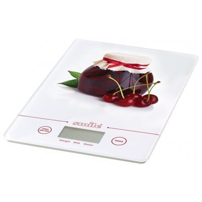 Весы кухонные Smile KSE 3219 (KSE 3219 вишня)