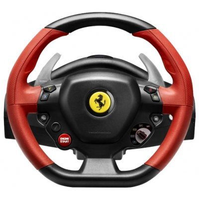 Фото Руль проводной Thrustmaster FERRARI 458 SPIDER RACING WHEEL XBOX ONE