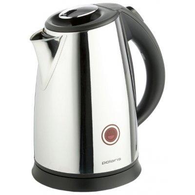 Электрический чайник Polaris PWK1765CAR (PWK1765CAR черный матовый)Электрические чайники Polaris<br>чайник объем 1.7 л мощность 2200 Вт закрытая спираль установка на подставку в любом положении стальной корпус индикация включения<br>