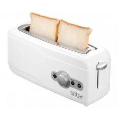 Тостер Sinbo ST 2412 (ST 2412)Тостеры Sinbo<br>тостер на 2 тоста мощность 750 Вт механическое управление функция размораживания<br>