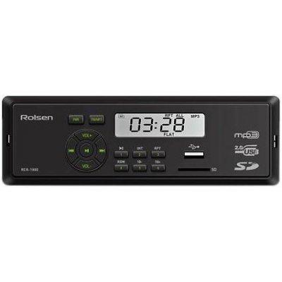 Автомагнитола Rolsen RCR-103G (1-RLCA-RCR-103G)Автомагнитолы Rolsen<br>Автомагнитола Rolsen RCR-100 способна воспроизводить музыкальный контент с SD/MMC и USB носителей. Выходная мощность данной модели 4х45Вт что обеспечивает великолепное звучание.<br>
