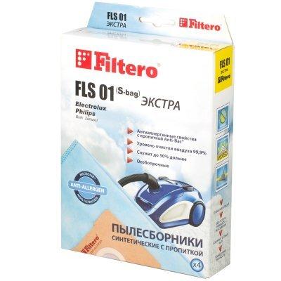 Пылесборник для пылесоса Filtero FLS 01 (4) Экстра (FLS 01 (4) ЭКСТРА)Пылесборники для пылесосов Filtero<br><br>