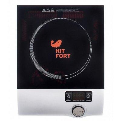 Электрическая варочная панель Kitfort КТ-108 черный (КТ-108)Электрические варочные панели Kitfort<br>электрическая варочная панель<br>стеклокерамическая рабочая поверхность<br>1 индукционная конфорка<br>духовка отсутствует<br>ШхГхВ: 32.5x41x8.5 см<br>электронное управление<br>дисплей<br>