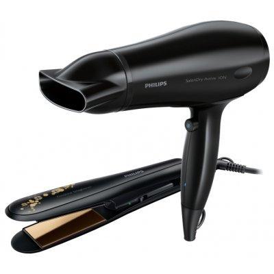 Фен Philips HP8646 (HP8646/00)Фены Philips<br>обычный фен функция выпрямления волос мощность 2000 Вт ионизация керамическое покрытие насадок<br>