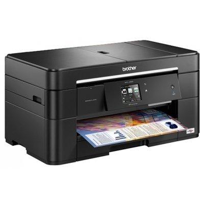 Цветной струйный МФУ Brother MFC-J2320 (MFCJ2320R1)Цветные струйные МФУ Brother<br>МФУ (принтер, сканер, копир, факс) 4-цветная струйная печать макс. формат печати A3 (297  420 мм) печать фотографий цветной ЖК-дисплей двусторонняя печать печать с фотокамеры и карт памяти Wi-Fi, Ethernet<br>