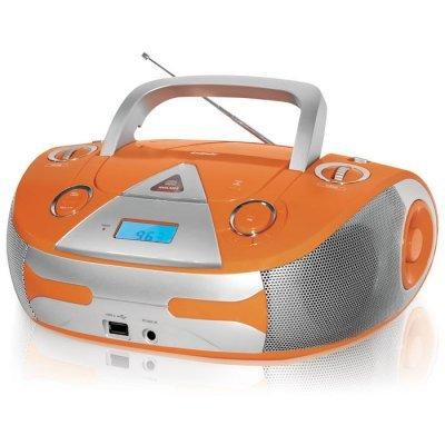 Аудиомагнитола BBK BX325U оранжевый/серебристый (BX325U оранжевый/серебристый)Аудиомагнитолы BBK<br>CD-магнитола<br>    двухполосная акустика<br>    поддержка MP3<br>    тюнер AM, FM<br>    линейный вход<br>    воспроизведение с USB<br>