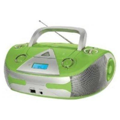 Аудиомагнитола BBK BX325U салатовый/серебристый (BX325U салатовый/серебристый)Аудиомагнитолы BBK<br>Общее<br>ТипCD<br>Звукстерео<br>Количество полос2<br>Тюнер<br>Диапазон FMесть<br>Диапазон AMесть<br>CD-проигрыватель<br>Количество дисков CD1<br>Возможность программирования CD трековесть<br>Другие функцииподдержка CD-R, CD-RW, проигрывание MP3, проигрывание WMA<br>Интерфейсы<br>Линейный входесть<br>Выход на наушникиесть<br>Интерф ...<br>
