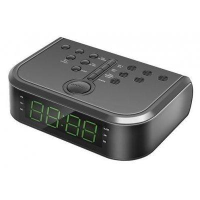Радиобудильник Rolsen CR-112 черный (1-RLDB-CR-112)Радиобудильники Rolsen<br>БрэндROLSEN<br>МодельCR-112<br>PartNumber/Артикул Производителя1-RLDB-CR-112<br>Цветчерный<br>Звуковой сигналДа<br>Звуковой радиосигналДа<br>Повторный сигнал (после пробуждения)Да<br>Тип часовцифровой<br>Подсветказеленая<br>Тип дисплеясветодиодный<br>Диагональ экрана0.9<br>Диапазоны тюнераAM/FM/УКВ<br>Звуковая системамоно ...<br>