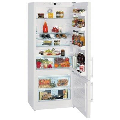 Холодильник Liebherr CP 4613 (CP 4613)Холодильники Liebherr<br>холодильник с морозильником отдельно стоящий двухкамерный класс A+ морозильник снизу общий объем 432 л ручка с толкателем капельная система<br>