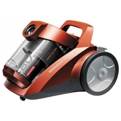 Пылесос Redmond RV-C316 красный (RV-C316 красный)Пылесосы Redmond<br>сухая уборка с циклонным фильтром без мешка для сбора пыли работа от сети потребляемая мощность 2200 Вт<br>