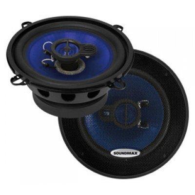 Колонки автомобильные Soundmax SM-CSE503 (SM-CSE503)Колонки автомобильные Soundmax<br>трехполосная коаксиальная АС<br>    типоразмер: 13 см (5 дюйм.)<br>    номинальная мощность 60 Вт<br>    максимальная мощность 120 Вт<br>    чувствительность 91 дБ<br>    импеданс 4 Ом<br>    диапазон частот 80 - 20000 Гц<br>