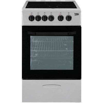 Электрическая плита Beko CSS 48100 GS белый (CSS 48100 GS)