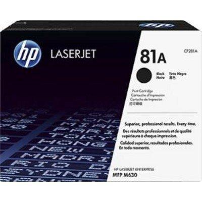 Тонер-картридж для лазерных аппаратов HP CF281A (81A) для HP LJ Enterprise M630 (CF281A)Тонер-картриджи для лазерных аппаратов HP<br>Картридж HP CF281A для LaserJet Enterprise M606/M605/604.  Черный. 10500 страниц. (81A)<br>