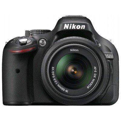�������� ���������� nikon d5200 kit 18-55 vr black (vba350k007)