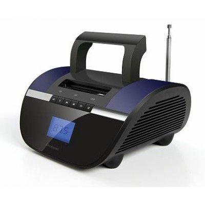 Аудиомагнитола Rolsen RBM413VI (1-RLAM-RBM413VI)Аудиомагнитолы Rolsen<br>мощность: 6Вт, воспроизведение MP3, интерфейс USB, тип карт памяти SD, цвет: фиолетовый<br>