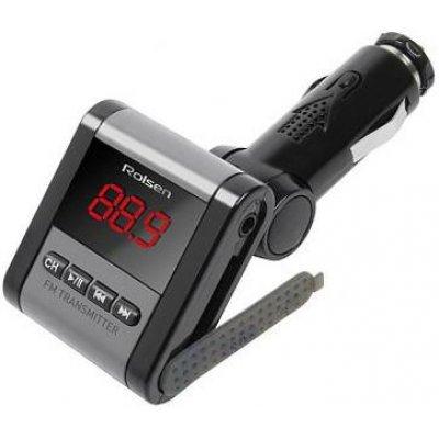 Трансмиттер FM Rolsen RFA-320 (1-RLCA-RFA-320)Трансмиттеры FM Rolsen<br>Брэнд: ROLSEN<br>PatrNumber/Артикул Производителя: 1-RLCA-RFA-320<br>Модель: RFA-320<br>Основной цвет: черный<br>Дополнительная память(слот для карт): SD<br>Порт USB: ДА<br>Bluetooth: НЕТ<br>Пульт ДУ в комплекте: ДА<br>Дальность действия передатчика (max): 5m<br>Поддерживает формат МРЗ: ДА<br>Частотный диапазон воспрои ...<br>
