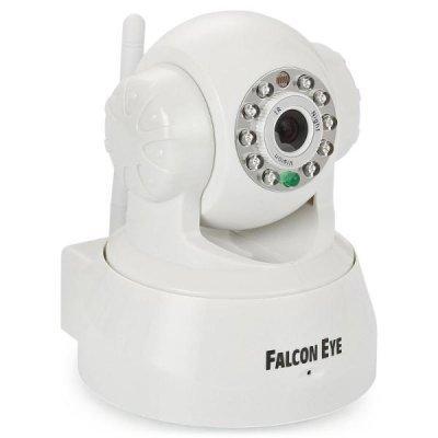 Камера видеонаблюдения Falcon Eye FE-MTR300Wt-P2P (FE-MTR300Wt-P2P)Камеры видеонаблюдения Eye<br>Поворотная Wi-Fi IP видеокамера;Матрица 1/4 CMOS; Разрешение 640*480 пикс.; Чувствительность 0,1 Люкс; ИК-подсветка до 10 м.Двухстороняя аудиосвязь; Компресия MJPEG;поворот на 340 град. Наклон 90 град.;Детектор движения;Wi-Fi IEEE 802.11b/g; LAN RJ-45 (10BASE-T/100BASE-TX); Поддерка Android и IOS; П ...<br>