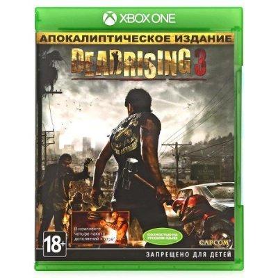 Игра для игровой консоли Microsoft Dead Rising 3 Apocalypse (6X2-00021) (6X2-00021)Игры для игровых консолей Microsoft<br>После событий Dead Rising 2 прошло уже десять лет, но зомби по-прежнему угрожают жизни людей. В Dead Rising 3 вам предстоит взять на себя роль механика из Лос Пердидос по имени Ник Рамос и найти способ спастись от тысяч кровожадных монстров, прежде чем военные нанесут удар и сотрут с лица Земли наво ...<br>