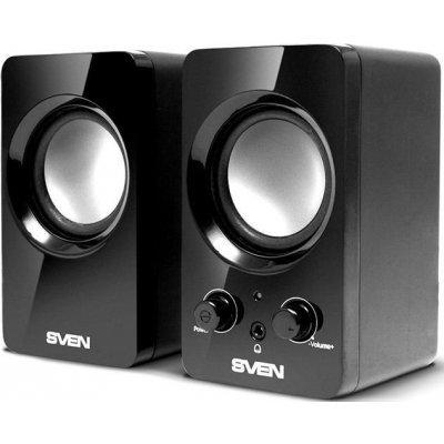 Компьютерная акустика SVEN 354 (2.0) черный 4W (SV-0120365BL) колонки sven 170 черный белый [sv 013523]