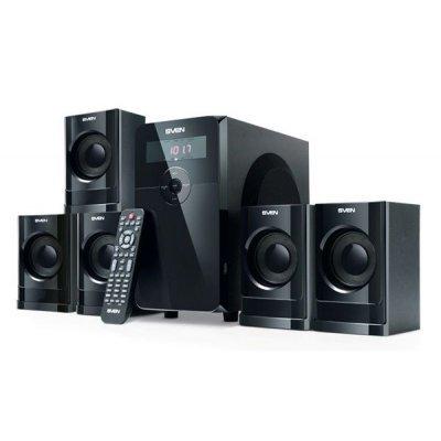 Компьютерная акустика SVEN HT-200 (5.1) черный 80W (SV-0140200BK)