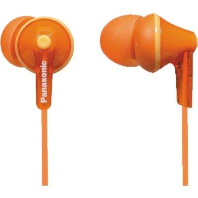 все цены на Наушники Panasonic RP-HJE125E-D оранжевый 1.1м (RP-HJE125E-D) онлайн