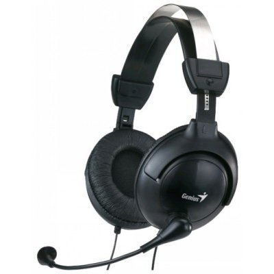 Компьютерная гарнитура Genius HS-505X черный 1.5м (31710058101) гарнитура genius hs g680 черный