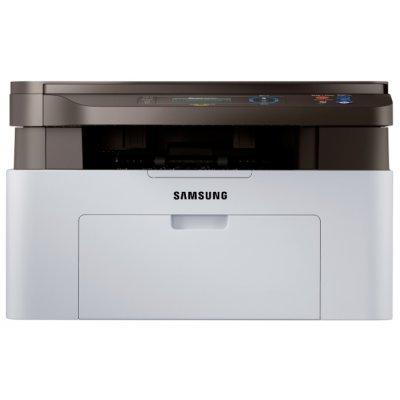 Лазерное МФУ Samsung SL-M2070W/FEV (SL-M2070W/FEV)Монохромные лазерные МФУ Samsung<br>(замена SCX-3405W/XEV); 20 стр/мин А4, принтер/копир/сканер, память: 128 МБ, процессор: 600 МГц, печать: 1200 x 1200dpi; сканирование: 1200 х 1200 dpi (разрешение сканера в интерполяции - 4800*4800), Языки: GDI;  вход. лоток - 150 листов; вых. лоток - 100 листов; Интерфейсы: Hi-Speed USB 2.0/Wireles ...<br>