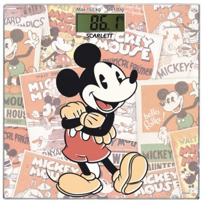Весы Scarlett SC - BSD33E899 (Микки ретро) (SC - BSD33E899)